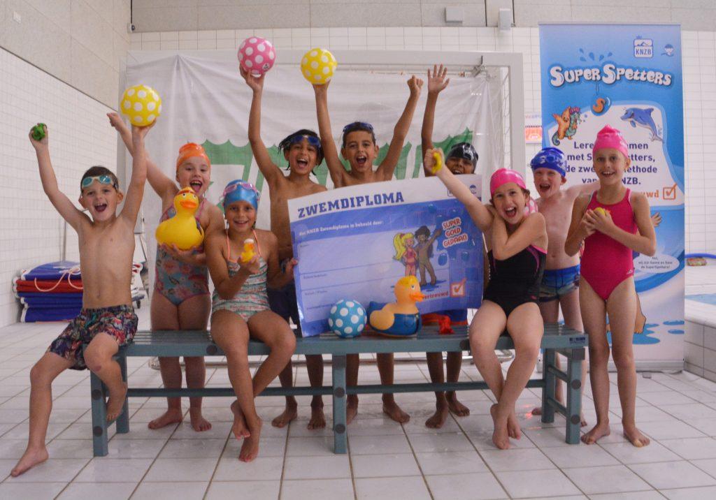 Afzwemgroep SSP 23 mei